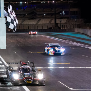 Blomqvist and Gelael dominate opening race in Abu Dhabi