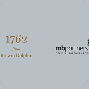 MB Partners welcome 1762 from Brewin Dolphin to its exclusive Official Partner Programme