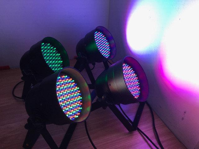 Par 56 lights x4