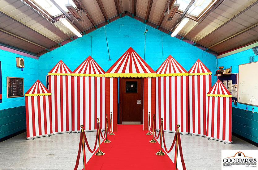 Circus / Greatest Show Scenery
