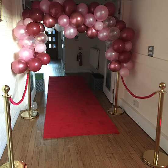 Red carpet & barrier posts