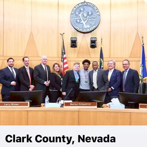 Clark County Medal  of Recognition