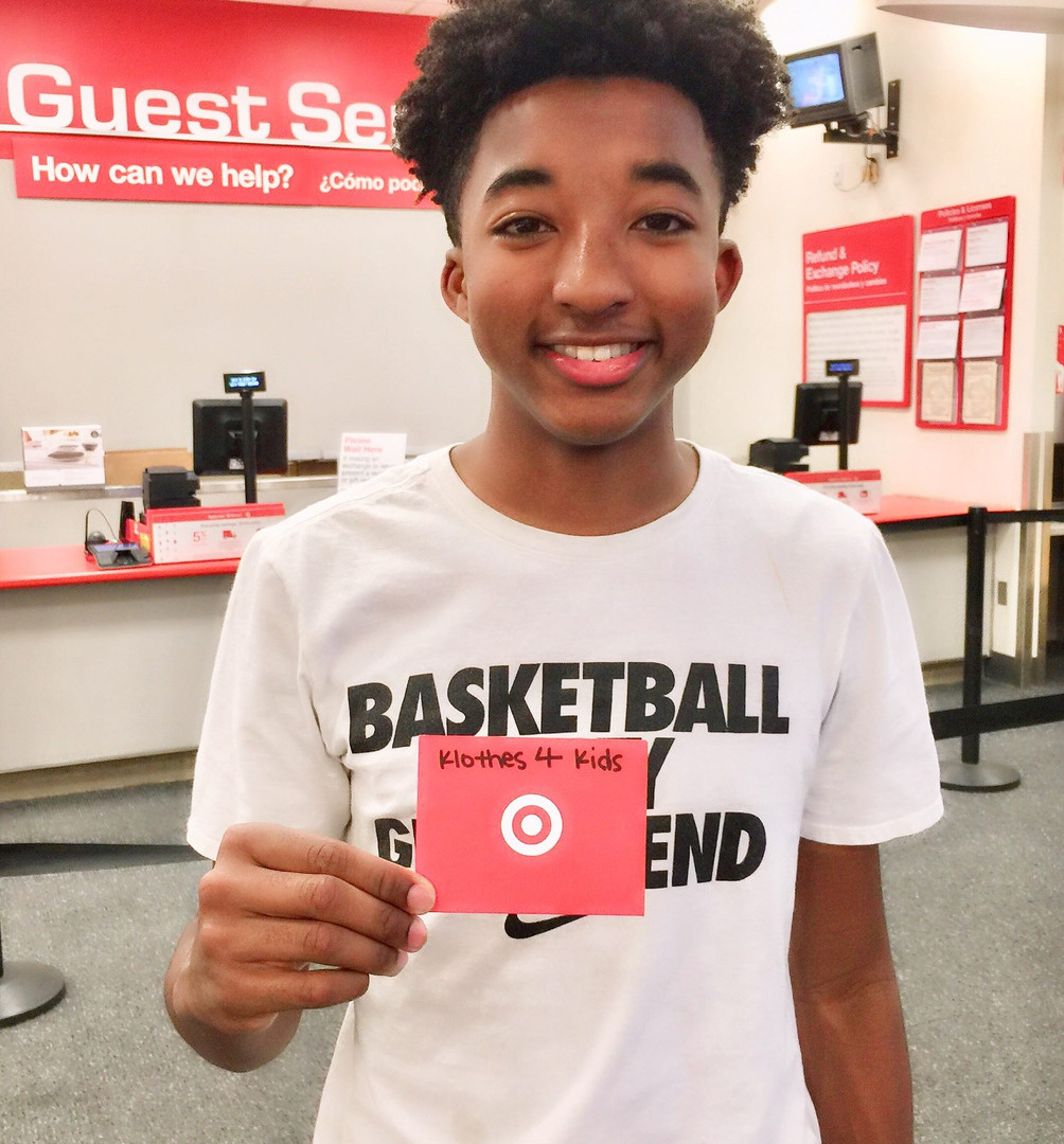 Target Gift Card Donation