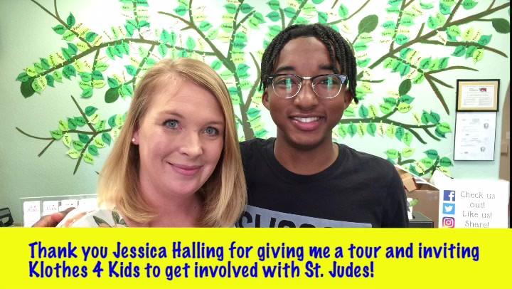 Klothes 4 Kids Tour of St. Judes Ranch
