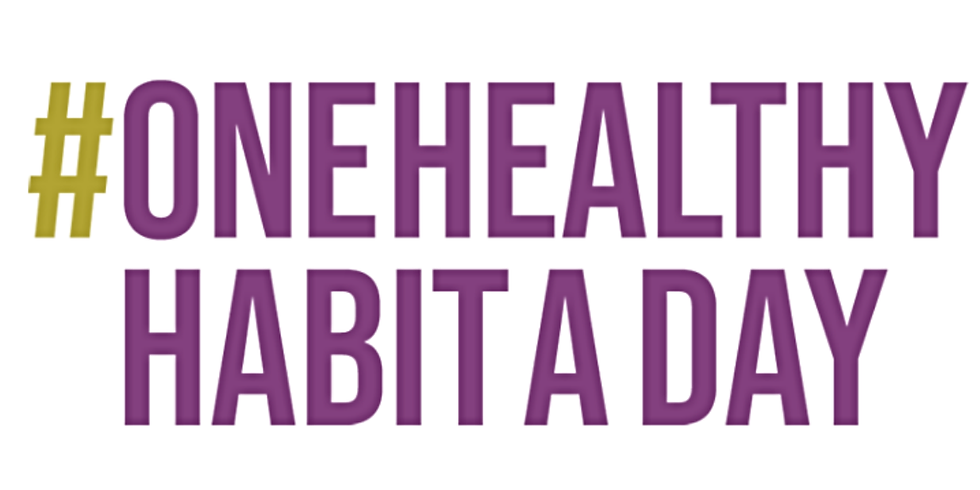 One Healthy Habit a Day Challenge
