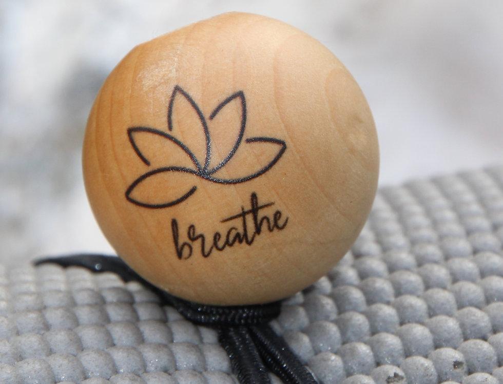 BREATHE - Black Bungee | Natural Stain | Black Logo