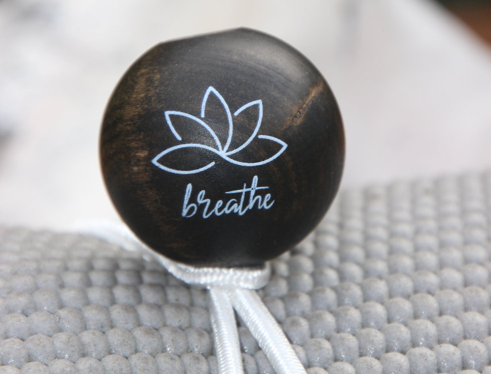 BREATHE - White Bungee | Dark Stain | White Logo