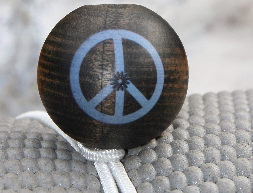 PEACE - White Bungee   Dark Stain   White Logo