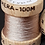 54 Dean Street Ash Grey Silk Fly Tying Thread