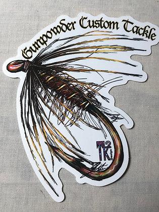 Gunpowder Custom Tackle Decal
