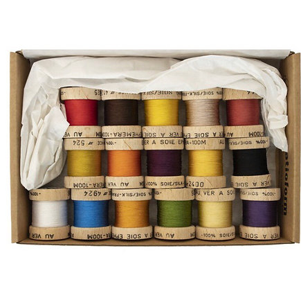 54 Dean Street Ephemera pure silk thread boxed set