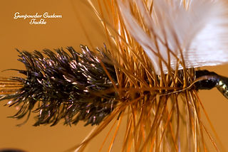 coachman, dry fly, eric way, gunpowder custom tackle, austin green photography, traditional dry fly