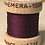 54 Dean Street Claret Silk Fly Tying Thread