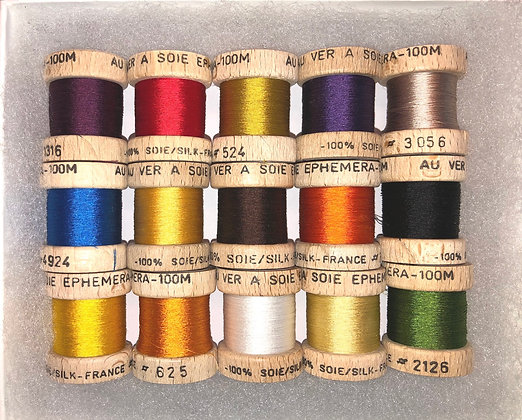 54 Dean Street Ephemera pure silk thread boxed set