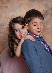 boy, girl, siblings, portrait, children, child portrait