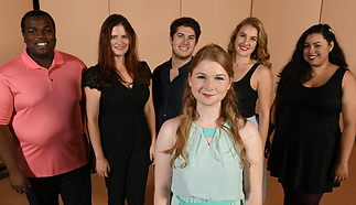 The cast of Kate McLellan's Women Composers in Music Theatre Recital