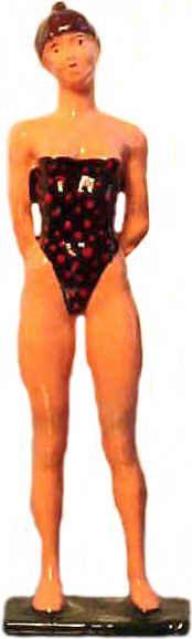#209a - Bathing Cutie, One Piece Bathing Suit
