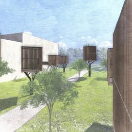 """모던 디자인 하우스 """"CABIN MODERN HOUSE"""""""