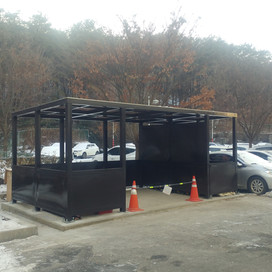 재활용 집적소 설치공사