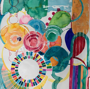 Watercolor Window 1
