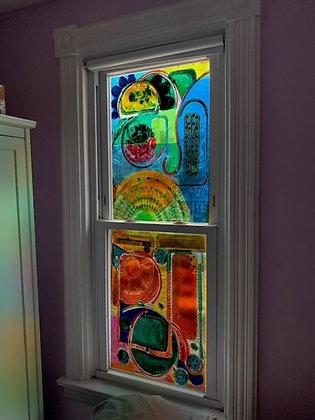 Custom Stained Plastic windows