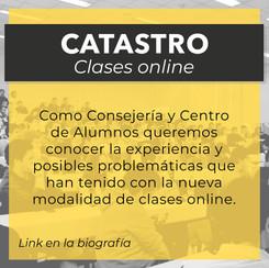 Catastro clases online