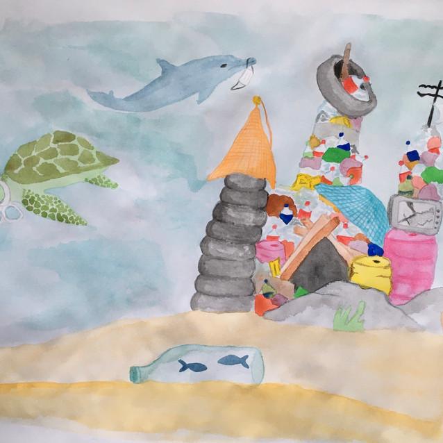 12. El castillo bajo el mar
