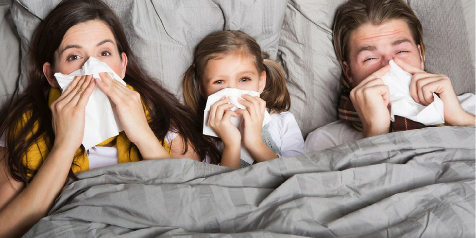 Colds, Flu and Fevers!