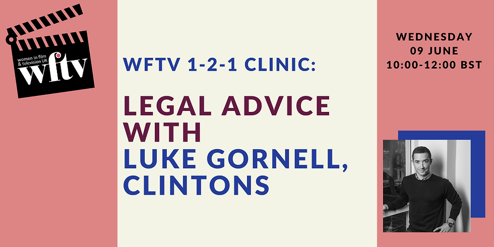 1-2-1 Clinic: Legal Advice with Luke Gornell, Clintons