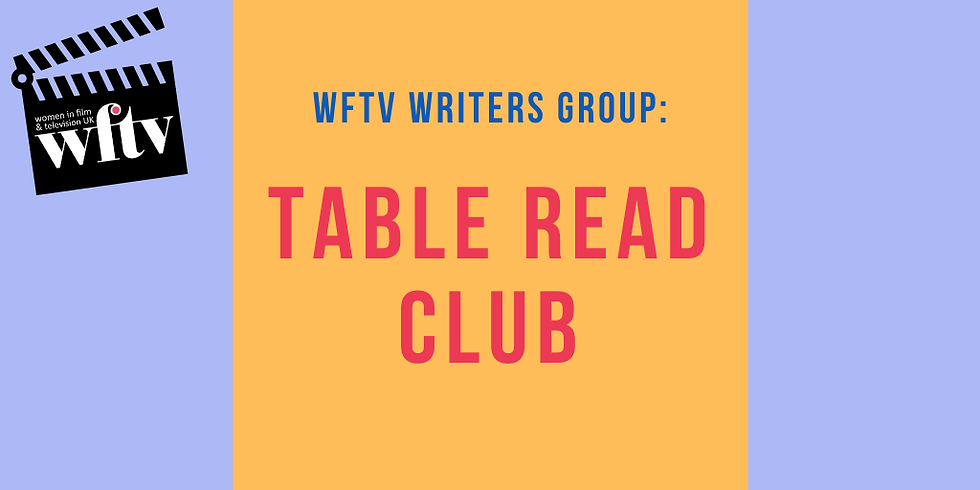 WFTV Writers' Group: Table Read Club