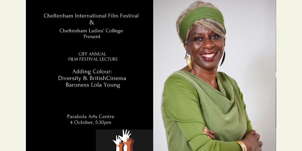 Special opportunity to attend Cheltenham International Film Festival's event Adding Colour: Diversity & British Cinema