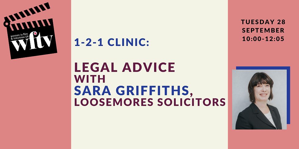 1-2-1 Clinic: Legal Advice with Sara Griffiths, Loosemores Solicitors