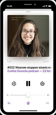 eveline druncks podcast business mindset
