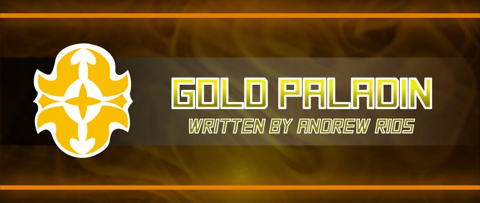 Gold Paladin Vision Vanguard