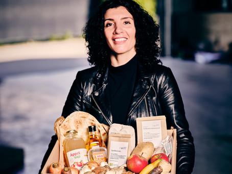 Geroosterde wortelpeterselie met harissa, quinoa & peterselieolie van Nadia Zerouali