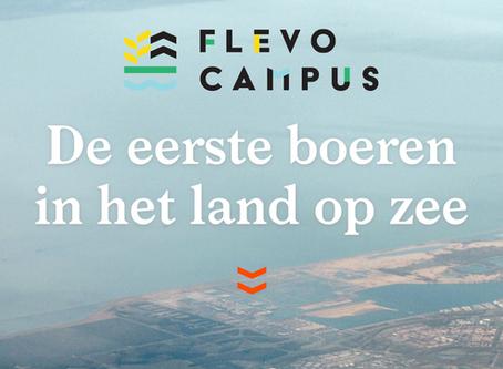 Ontdek Flevoland | De eerste boeren in het land op zee.
