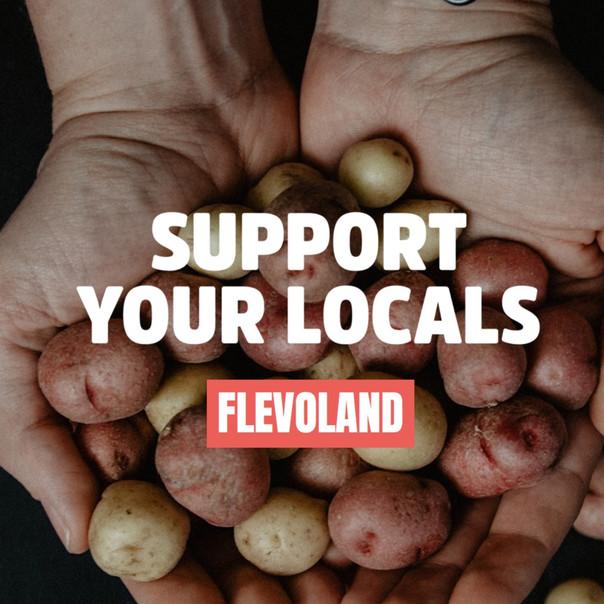 Het initieren en bijhouden van de website Lokaal Voedsel Flevoland.