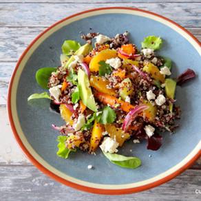 Quinoa salade met gekleurde wortel van Hanneke de Jonge, Culinea