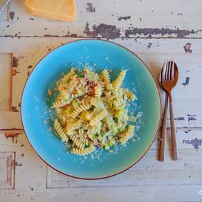 Pasta met Chinese kool, prei en citroen van Hanneke de Jonge, Culinea