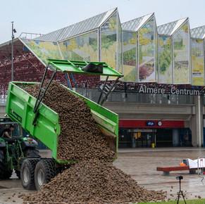 Initiatiefnemer van de aardappelberg in Lelystad en Almere