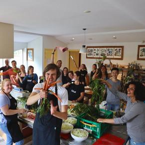 Het geven van masterclasses over de 'Smaak van Flevoland'