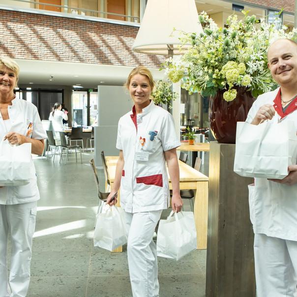 Stichting hart voor zorgend Flevoland - het samenstellen van Flevolandse maaltijden in  samenwerking met Flevolandse ondernemers