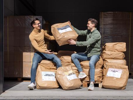 Lokaal verhaal | Niels en Roeland van Trending Tea uit Dronten over thee met impact