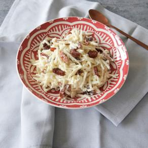 Koolrabi salade met appel en walnoten van Hanneke de Jonge, Culinea