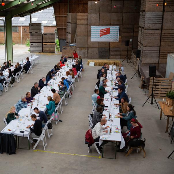 Organiseren van het Grote Flevoland Diner