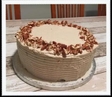 Soraya's Healthy Carrot Cake van THE VEGGIE WEEK