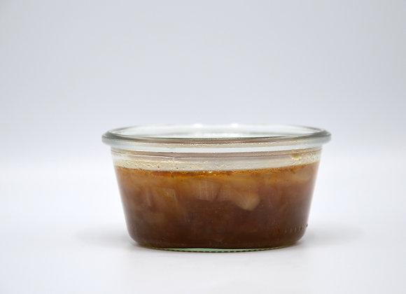 Huisgemaakte uiensoep