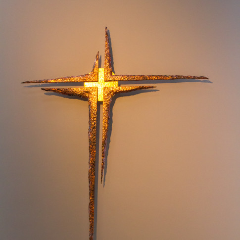 Het kruis in het licht