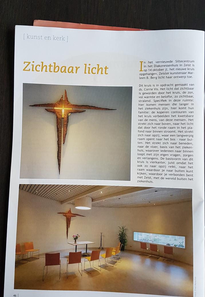 Artikel over het kruis, overzicht.