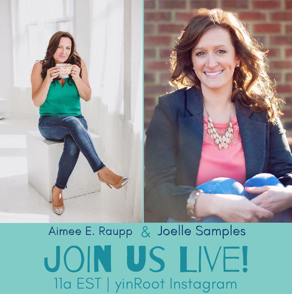 Aimee & Joelle Talk Body Belief